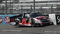 Burton's rookie mistake costly for Hornaday Jr.