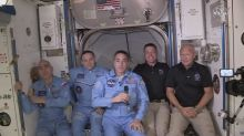 NASA astronauts reach ISS, SpaceX's Elon Musk says its the 'first step on a journey toward a civilization on Mars'