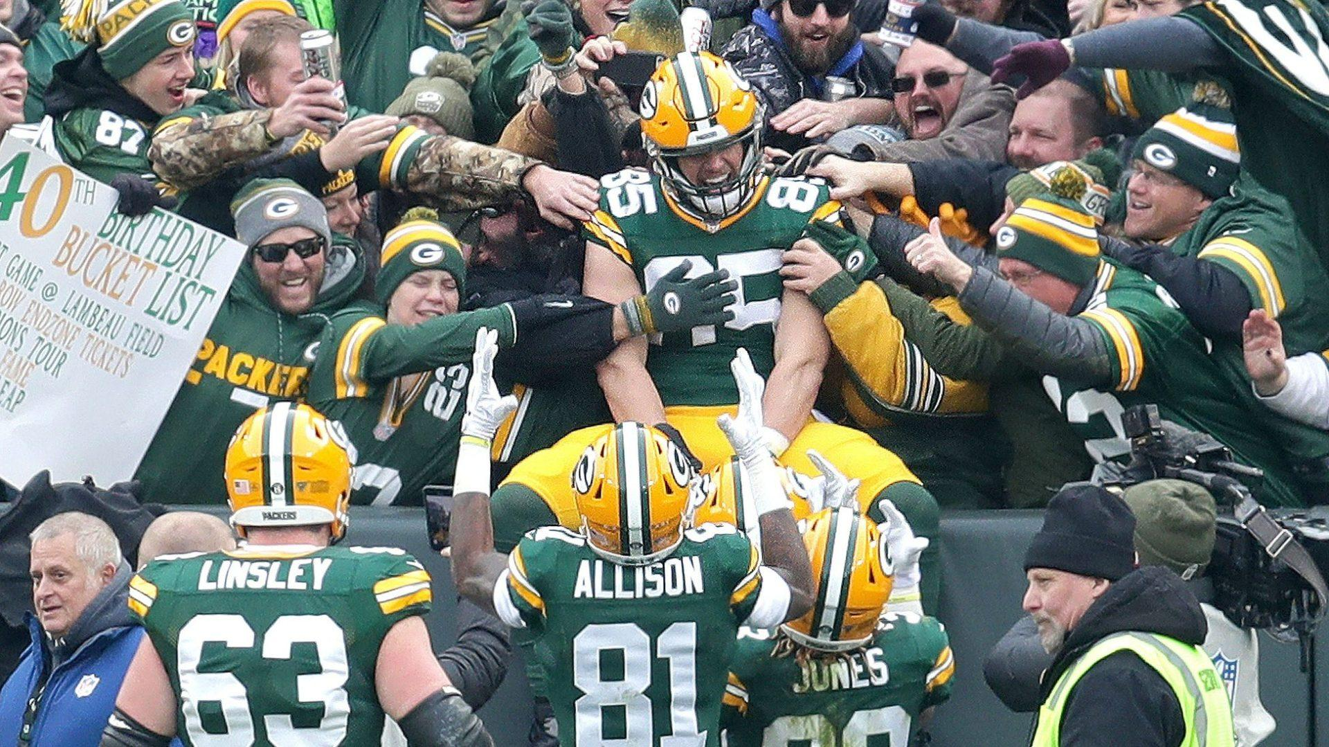 Packers will miss the Lambeau Leap