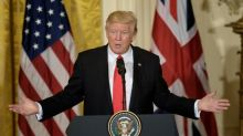 Trump touts 'very big' trade deal with Britain