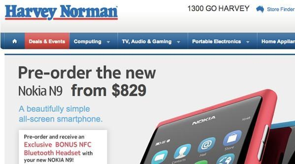 Crickey! Nokia's N9 goes up for preorder in Australia