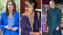Kate channels Diana but Prince William steals the show in Pakistan