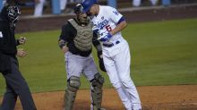 Dodgers lose Corey Seager to fractured hand on HBP