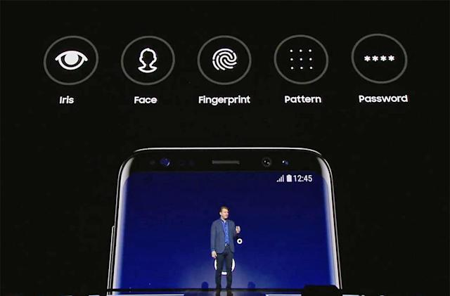 Samsung's Galaxy S8 can sign into websites using your face