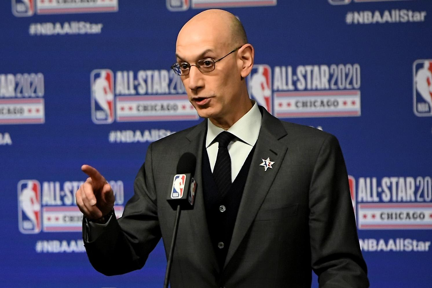 NBA commissioner Adam Silver: 'Best guess' next season will not start until at least January