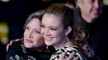 Carrie Fisher's daughter, Billie Lourd, shares emotional musical tribute on mom's 'death anniversary'