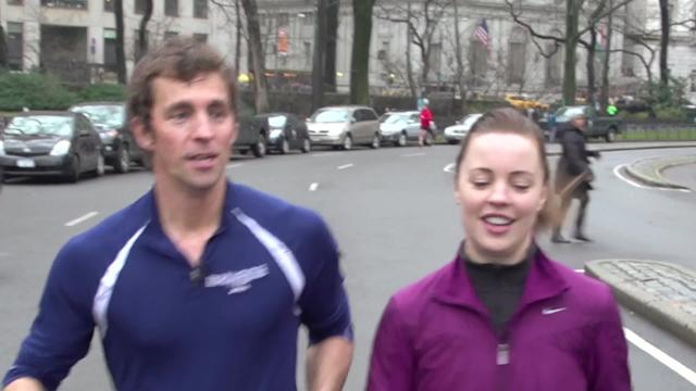 Jogging with James - Actress Melissa George Reveals Who She'd