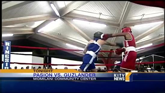 Local boxer Haley Pasion fights in Pearl City