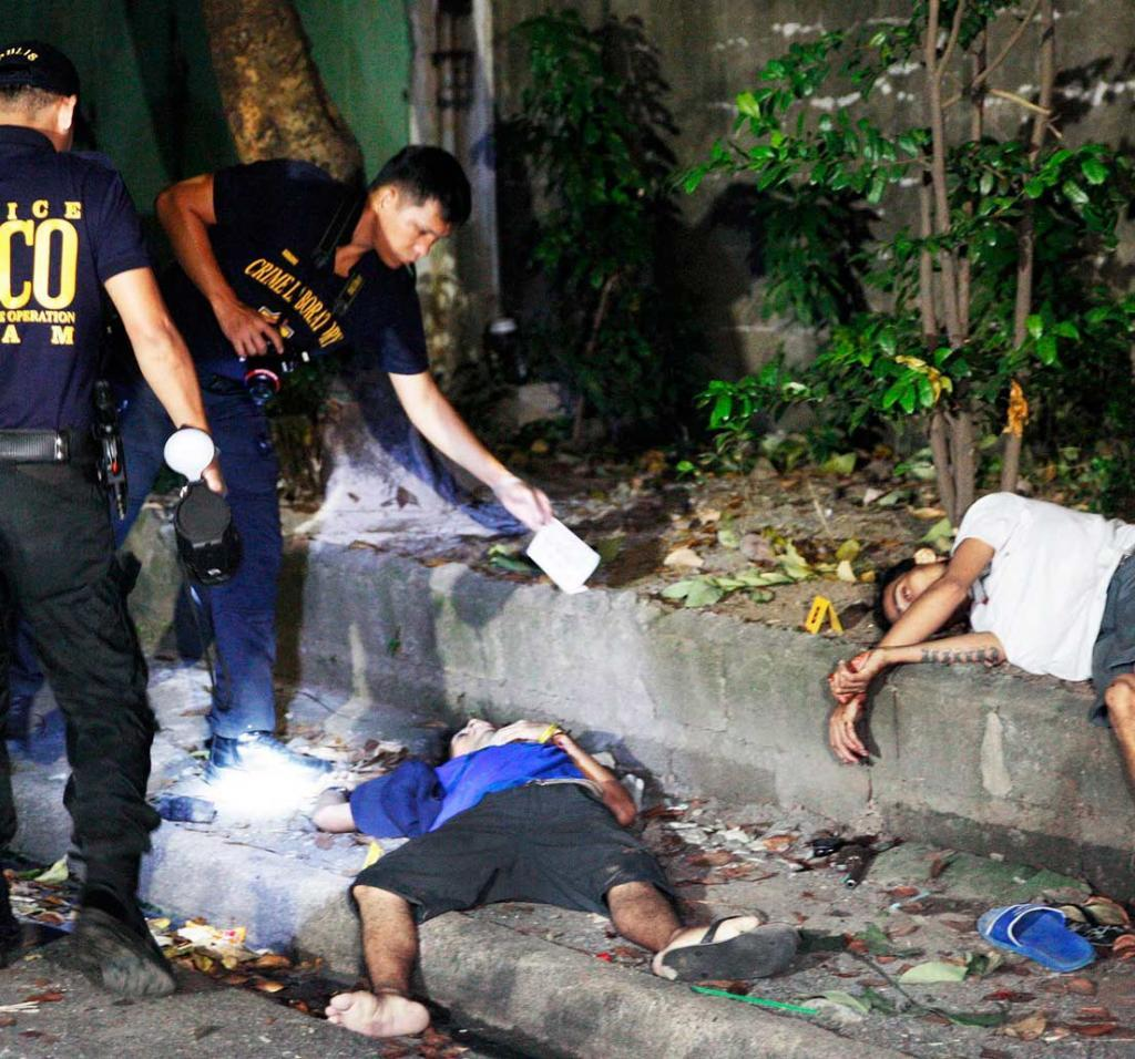 4 Drug Suspects Shot Dead By Police
