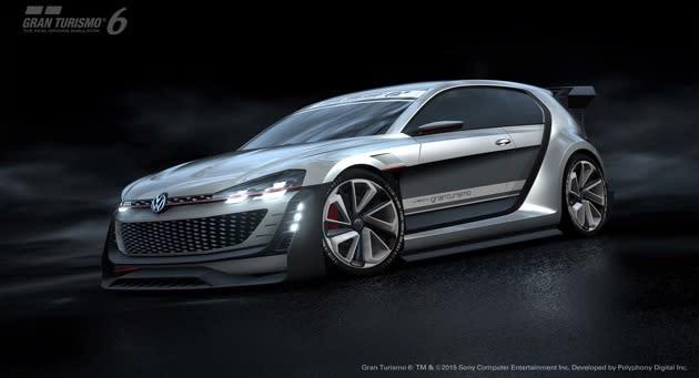 Volkswagen's latest 'Gran Turismo' concept is a 500HP hatchback