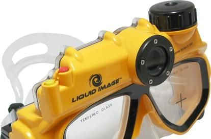 Liquid Image's underwater digital camera mask now available... in Japan