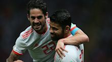 Isco saves a stricken bird as Spain defeat Iran