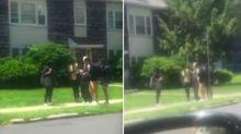 Video captures high school students' sweet actions to help elderly man