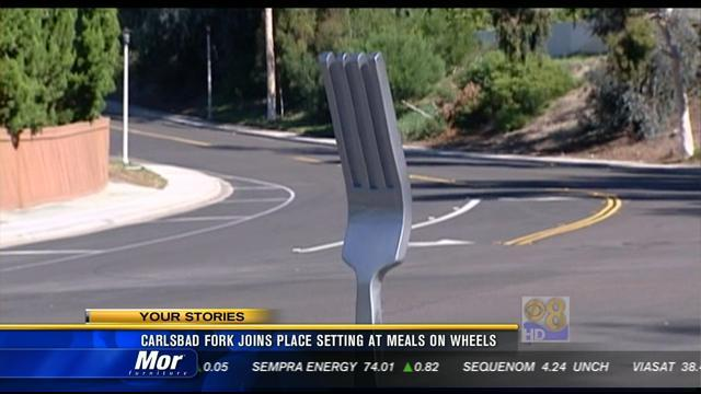 Carlsbad fork joins place setting at Meals on Wheels