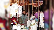 Katie Holmes and Suri Cruise Enjoy a Carousel Ride at Disney World