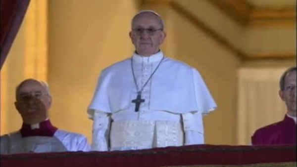 Pope Francis begins first day as pontiff with prayer