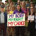 'Stop the Ban' rally in Raleigh draws large crowd of abortion rights supporters