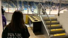 With COVID-19 changes front and centre, Charlottetown Islanders welcome fans to arena