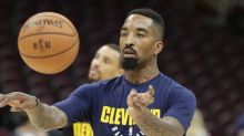 J.R. Smith says ability to challenge LeBron James, and handle his fury, helps Lakers
