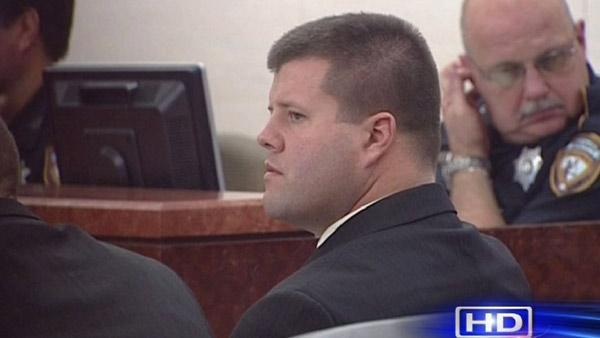 Ex-officer on trial for official oppression