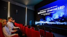 Samsung's 34-foot LED TV looks to change movie theaters forever