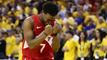 Kyle Lowry is fittingly first Raptor to raise trophy, says he'll FaceTime DeMar DeRozan later