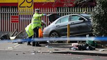 Man in critical condition after car hits pedestrians in south London