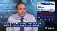Boeing: Deal has no impact on pending proceedings