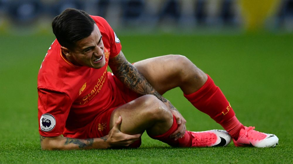 Coutinho confident of swift return after injury scare