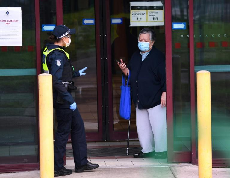 More than five million residents of Melbourne will be locked down for six weeks after coronavirus cases surged (AFP Photo/William WEST)