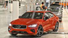 El nuevo sedán S60 2019 de Volvo estará fabricado íntegramente en los EE. UU.