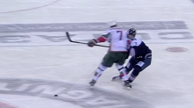 KHL player gets 8-game suspension for monster hit (Video)