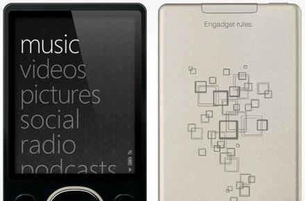 Zune Originals engraving now available for 80GB models