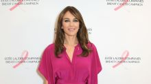 Elizabeth Hurley enjoying 'lazy' country life as she shares playful video of her rolling in the grass