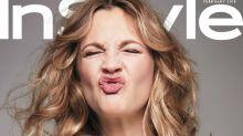 Drew Barrymore recrea los looks más icónicos de su infancia en 'InStyle'