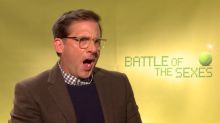Steve Carell got heckled by extras for his bad tennis in 'Battle of the Sexes'