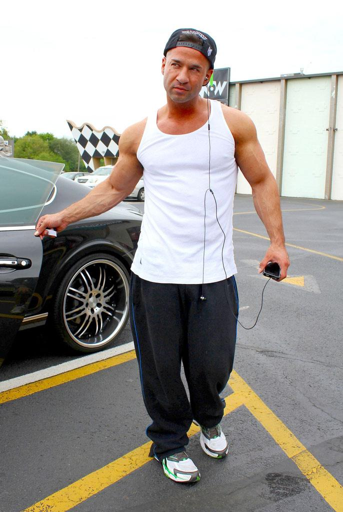 Mike The Situation Sorrentino Arrested At New Jersey Tanning Salon