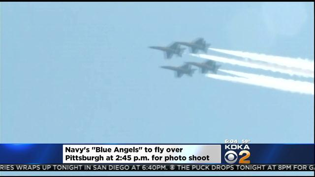Blue Angels To Fly Over Downtown