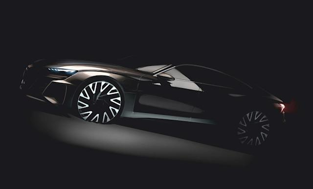Audi Sport's e-tron GT will be based on Porsche's Mission E