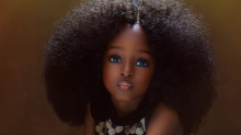 Is this 5-year-old Nigerian the 'most beautiful girl in the world'?