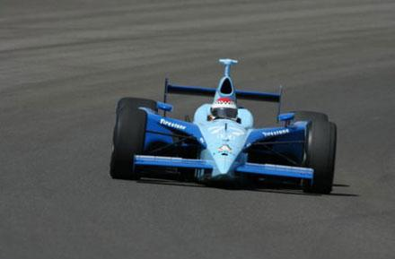 """Linux car"" first to crash at Indianapolis 500"