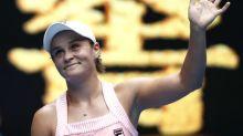 Australia's Barty shines brightly as compatriots stumble