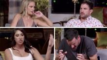 The moment Mick and Tamara learn of Jess and Dan's secret MAFS affair