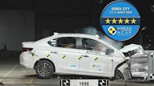 Novo Honda City 2020 alcança 5 estrelas em teste de colisão