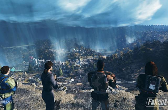 'Fallout 76' deals with trolls by making them part of the game