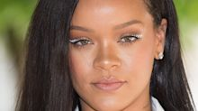 Rihanna reinvents the classic cat-eye during Paris Fashion Week appearance