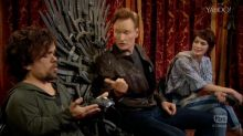 Peter Dinklage and Lena Headey Play Video Game With Conan