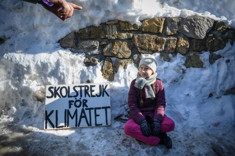 Climate Activist Thunberg Joins March Ahead of Davos