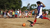 World Cup Soccer Rival Deep in the Amazon