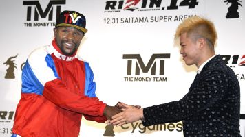 Mayweather changes tune on Tokyo fight
